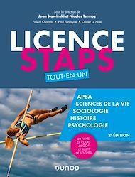 Téléchargez le livre :  Licence STAPS Tout en Un - 2e éd
