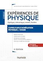 Téléchargez le livre :  Expériences de physique - Optique, mécanique, fluides, acoustique - 5e éd