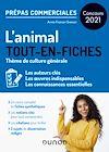 Télécharger le livre :  L'animal - Prépas commerciales - Concours 2021