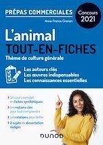 Téléchargez le livre :  L'animal - Prépas commerciales - Concours 2021