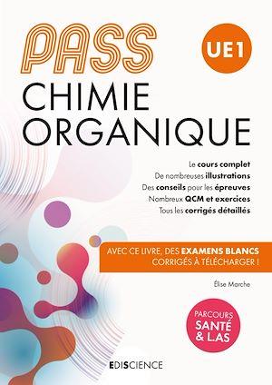 Téléchargez le livre :  PASS UE 1 Chimie organique - Manuel