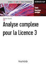 Téléchargez le livre :  Analyse complexe pour la Licence 3 - Cours et exercices corrigés
