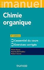 Téléchargez le livre :  Mini manuel de Chimie organique - 4e éd.