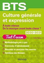 Téléchargez le livre :  BTS Culture générale et Expression 2020-2021