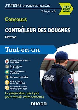 Téléchargez le livre :  Concours Contrôleur des douanes - Externe - Tout-en-un - 2020/2021