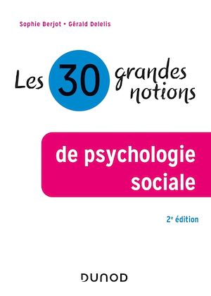 Les 30 grandes notions de psychologie sociale - 2e éd.