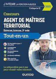Téléchargez le livre :  Concours Agent de maîtrise territorial 2021