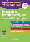 Télécharger le livre :  Français et mathématiques - Les annales corrigées - CRPE 2021