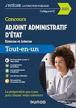 Téléchargez le livre :  Concours Adjoint administratif d'Etat - 2021 - Externe et interne