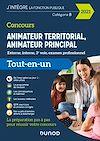 Télécharger le livre :  Concours Animateur territorial, animateur principal - 2021