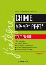 Téléchargez le livre :  Chimie tout-en-un MP/MP*-PT/PT* - 5e éd