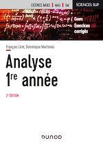 Téléchargez le livre :  Analyse - Licence 1re année - 2e éd.