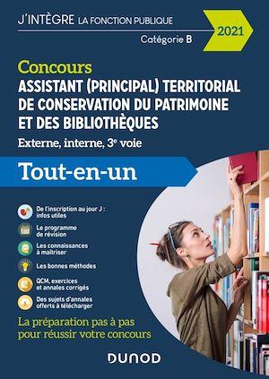 Concours Assistant (principal) territorial de conservation du patrimoine et des bibliothèques | Collectif, . Auteur