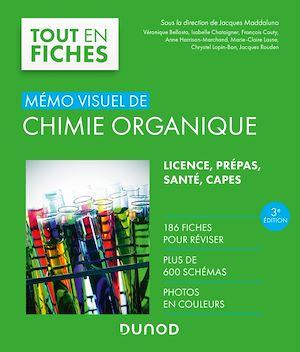 Téléchargez le livre :  Mémo visuel de chimie organique - 3e éd.