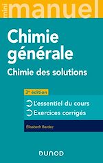 Download this eBook Mini Manuel - Chimie générale - 3e éd.
