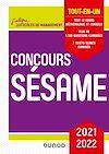 Télécharger le livre :  Concours Sésame 2021-2022