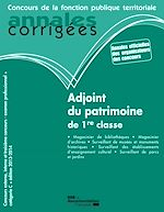 Download this eBook Adjoint du patrimoine de 1re classe 2013-2014