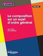 Download this eBook La composition sur un sujet d'ordre général