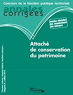 Download this eBook Attaché de conservation du patrimoine 2013