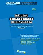 Download this eBook Adjoint administratif de 1re classe 2014-2015. Concours et examen