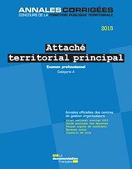 Téléchargez le livre :  Attaché territorial principal 2015. Examen professionnel