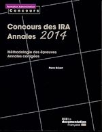 Download this eBook Concours des IRA - Annales 2014