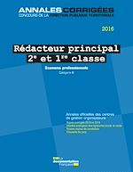 Download this eBook Rédacteur principal 2e et 1re classe 2016. Examens professionnels