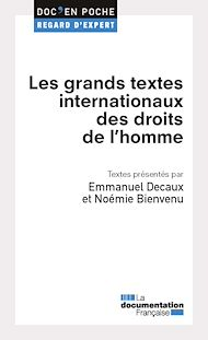Téléchargez le livre :  Les grands textes internationaux des droits de l'homme