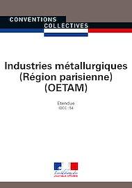 Téléchargez le livre :  Industries métallurgiques OETAM Région parisienne