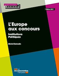 Téléchargez le livre :  L'Europe aux concours - Édition 2017