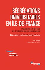Download this eBook Ségrégations universitaires en Ile-de-France