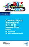 Télécharger le livre :  Contrats de plan État-Région : histoire et perspectives