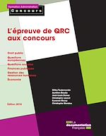Téléchargez le livre :  L'épreuve de QRC aux concours