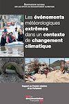 Télécharger le livre :  Les événements météorologiques extrêmes dans un contexte de changement climatique