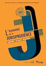 Download this eBook IAJ Hors-série : L'essentiel de la jurisprudence applicable aux agents territoriaux - n°1
