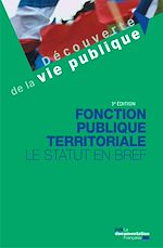 Download this eBook Fonction publique territoriale - 3e édition