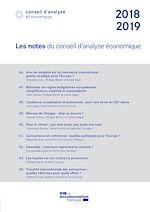 Download this eBook Les notes du Conseil d'analyse économique 2018-2019