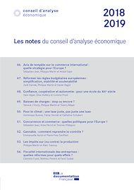 Téléchargez le livre :  Les notes du Conseil d'analyse économique 2018-2019