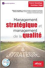 Télécharger cet ebook : Management stratégique et management de la qualité