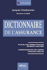 Téléchargez le livre :  Dictionnaire de l'assurance