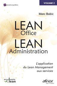 Téléchargez le livre :  Lean Office – Lean Administration
