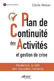 Téléchargez le livre :  Plan de continuité des activités et gestion de crise