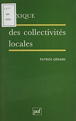 Téléchargez le livre :  Lexique des collectivités locales