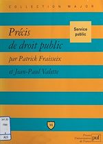 Téléchargez le livre :  Précis de droit public