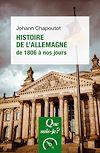 Télécharger le livre :  Histoire de l'Allemagne (1806 à nos jours)