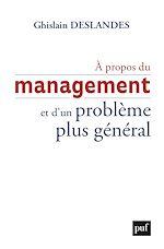 Téléchargez le livre :  À propos du management et d'un problème plus général