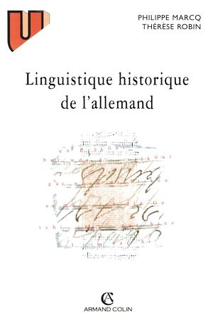 Téléchargez le livre :  Linguistique historique de l'allemand