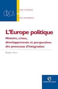 Téléchargez le livre :  L' Europe politique