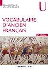 Télécharger le livre : Vocabulaire d'ancien français - 3e éd.
