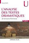 Télécharger le livre : L'analyse des textes dramatiques - 3e éd.